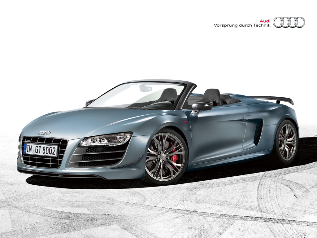 audi r8 gt spyder preise leistungsdaten bilder und ein video auf. Black Bedroom Furniture Sets. Home Design Ideas