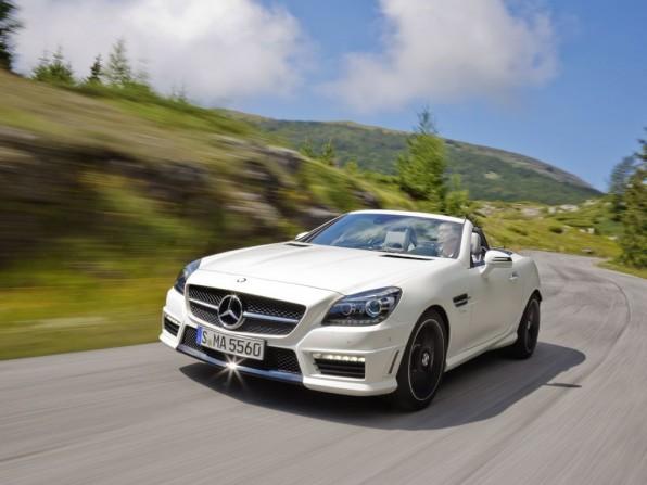 amg mercedes skl 55 mj2011 img 011 596x447 - Mercedes-Benz SLK AMG 55 (2012)