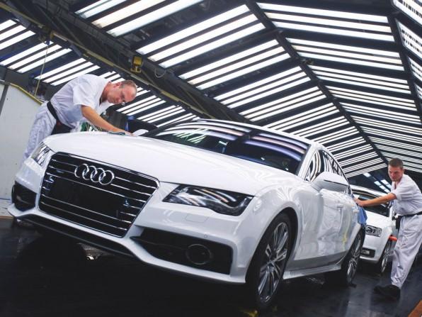 Audi erzielt Absatzrekord im Juli