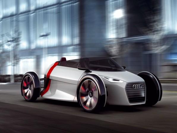 Audi Urban Concept: Zweisitziges Elektroauto für die Stadt