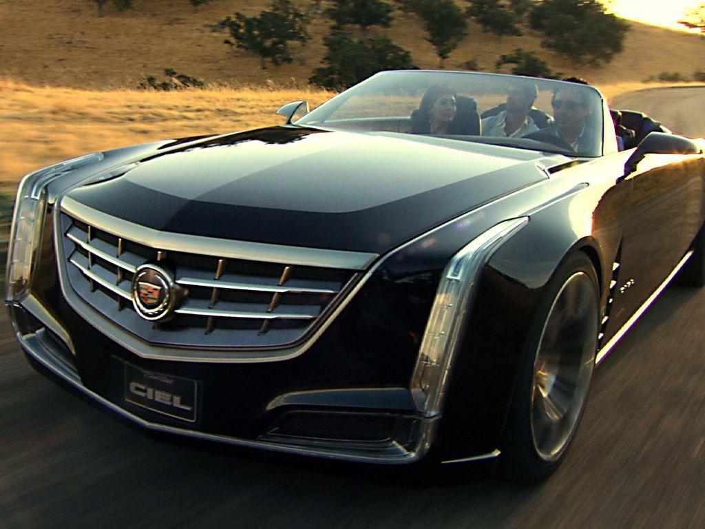 Cadillac Ciel Concept: Hybrid-Cabriolet der Extraklasse