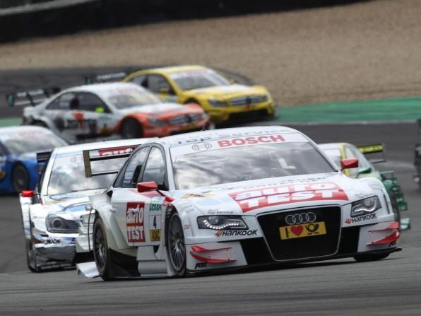 dtm 2011 audi nuerburgring img 31 596x447 - DTM 2011: Audi siegt auf dem Nürburgring