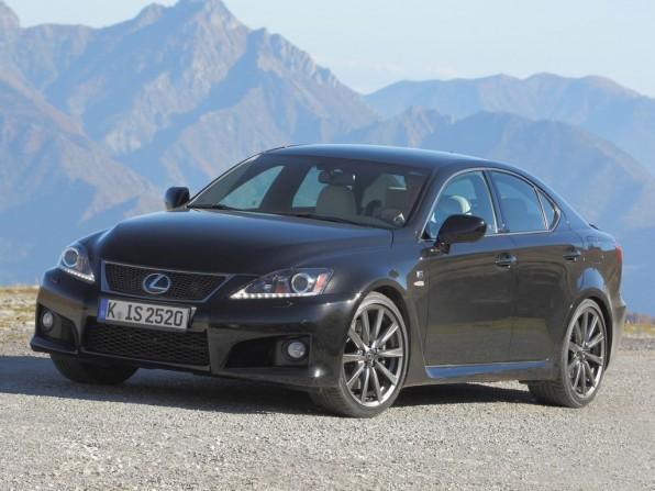 Neues Fahrwerk für das Topmodell des Lexus IS F