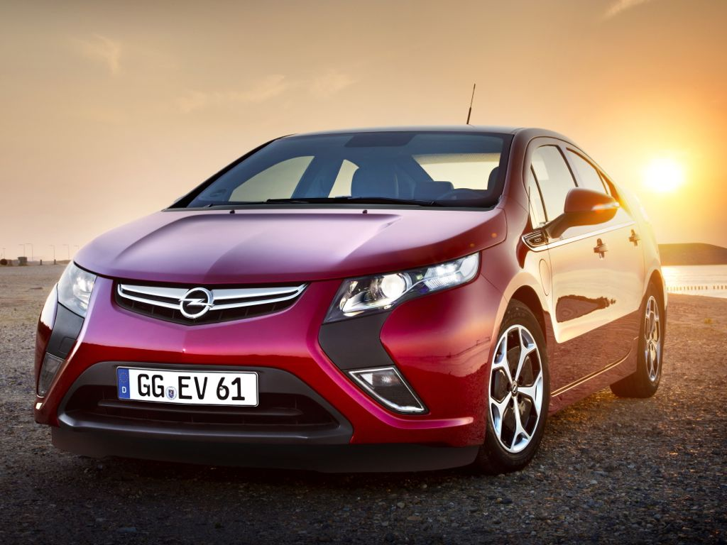 Opel Ampera scheint der richtige Ansatz zu sein