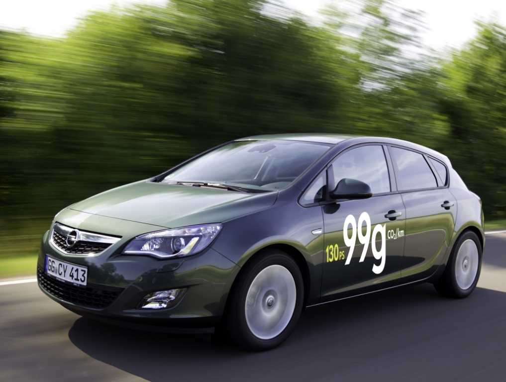 Neue ecoFLEX Modelle von Opel ab 2012