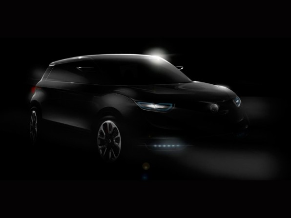 ssang yong xuv1 mj2012 596x447 - IAA 2011: SsangYong Crossover-Concept XUV 1