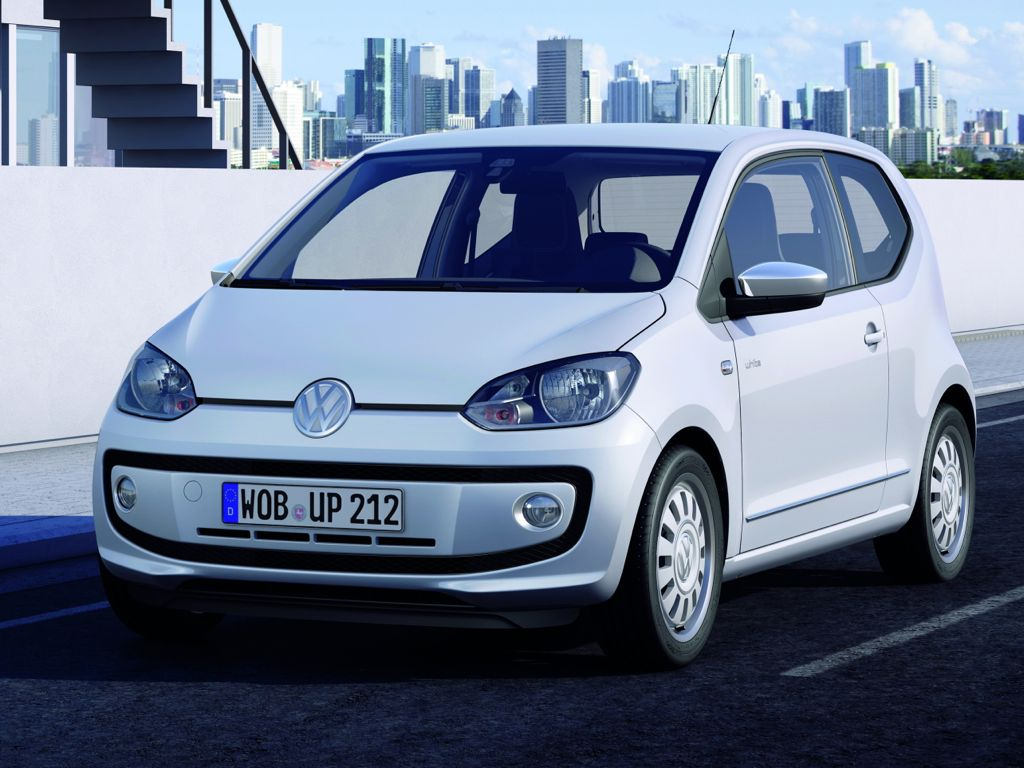 VW up! 1.0 EcoFuel BMT high up!