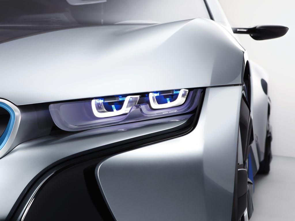 bmw laser licht bmwi8 iaa 20111 - BMW kündigt für 2013 Elektroauto mit Range Extender an