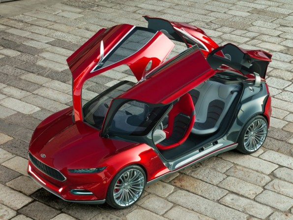 ford evos concept mj2011 img 01 596x447 - IAA 2011: So schick ist der neue Ford Evos