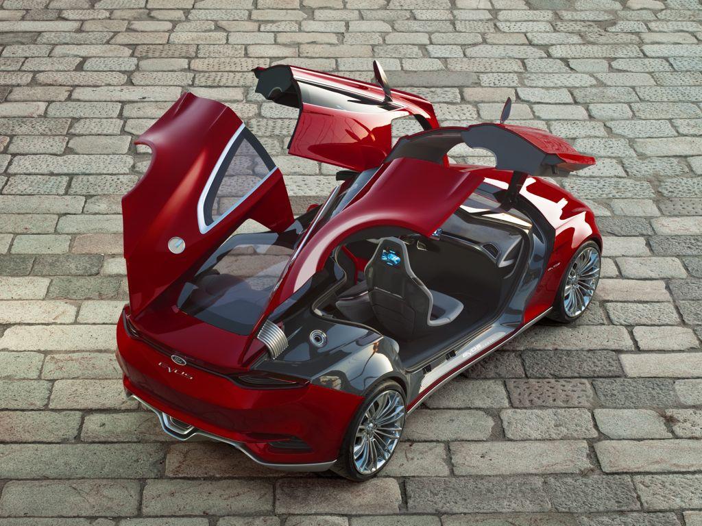 ford evos concept mj2011 img 02 - Hyundai ix35 Hybrid (2010)