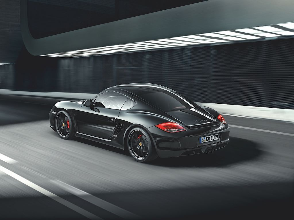 Porsche Cayman S Black Edition (Mj 2011)