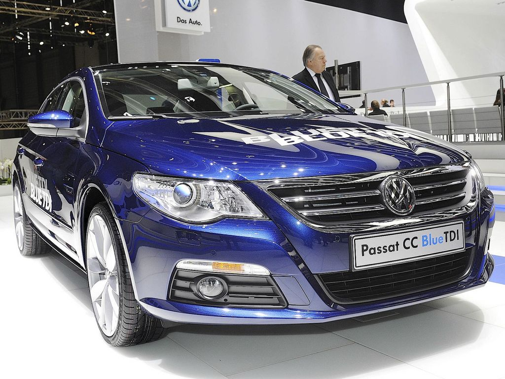 VW Passat CC Exclusive (Mj 2011)