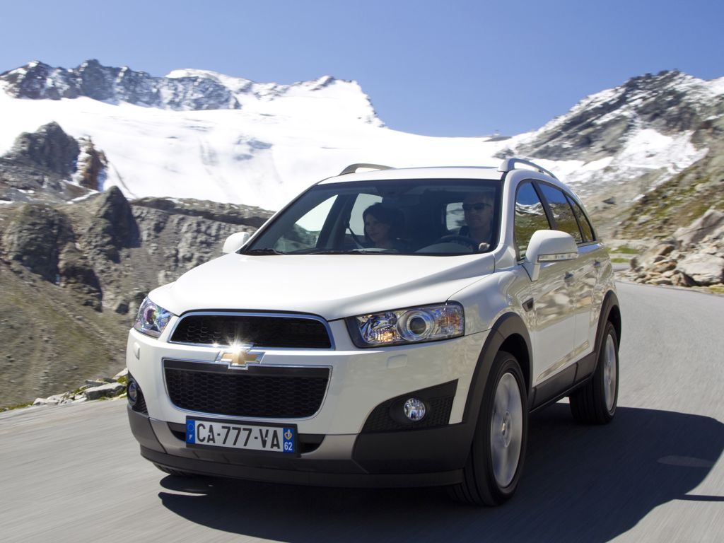 Steckbrief Chevrolet Captiva Preise Bilder Und