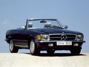 """Mercedes Benz SL Typ R 107 (1971-1989): """"Hart aber herzlich"""""""