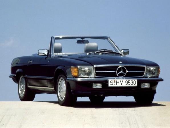 mercedes benz sl mj1971 1989 011 596x447 - Mercedes Benz SL Typ R 107 (1971-1989)
