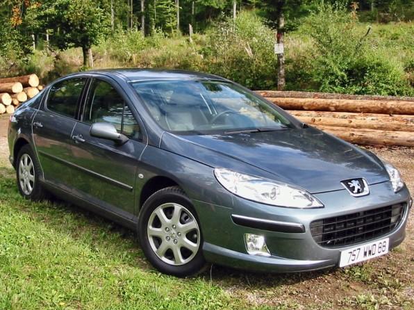 peugeot 407 mj2009 img 1 596x446 - Peugeot 407 Coupe (2010)