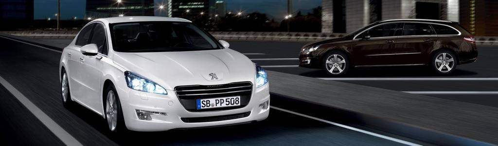 peugeot 508 limousine mj2011 teaser 1 - Li-Ion Inizio: Ein Elektroauto das Ferarrai Konkurrenz macht