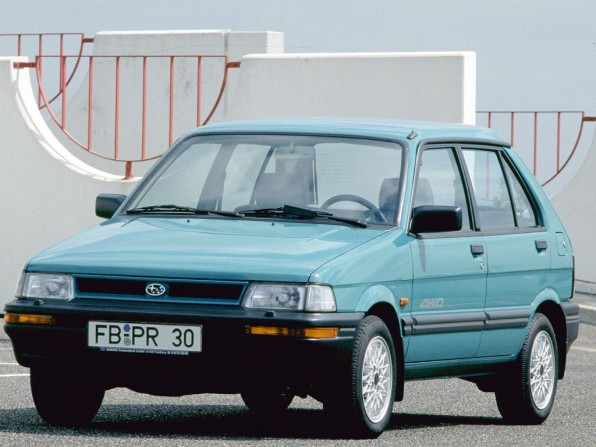 Subaru Justy (bis 2011)