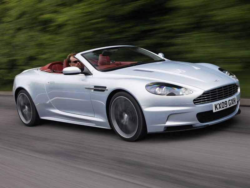 Aston Martin DBS Volante (2011)