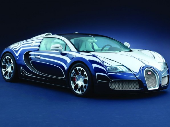 Bugatti L'Or Blanc kostet 1,65 Millionen Euro