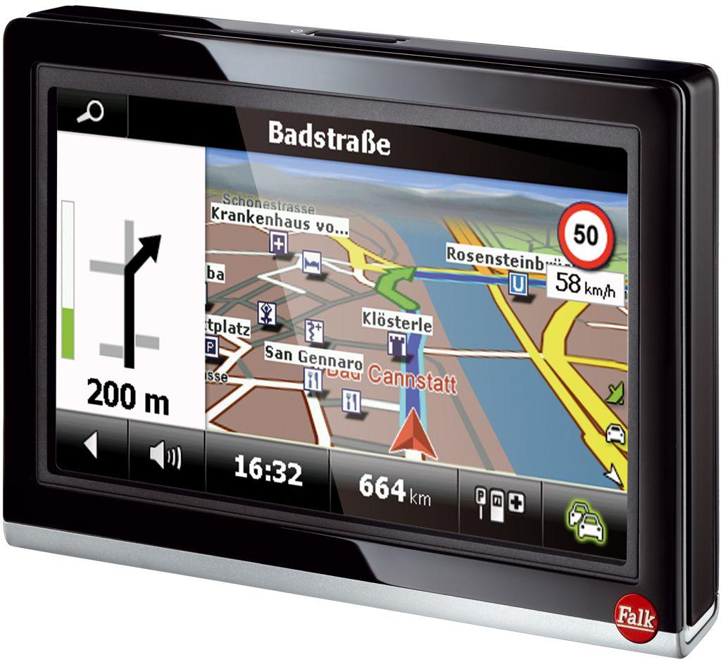 Falk Pur 550: Navigationsgerät unter 200 Euro kaufen