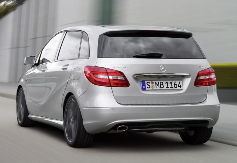 Autogas ab Werk: Mercedes-Benz B 160 LPG kostet rund 28.000 Euro