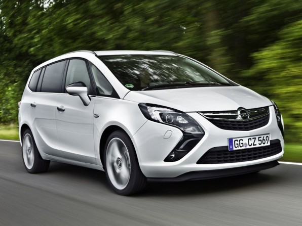 Opel Zafira ab 2012 mit Erdagsantrieb