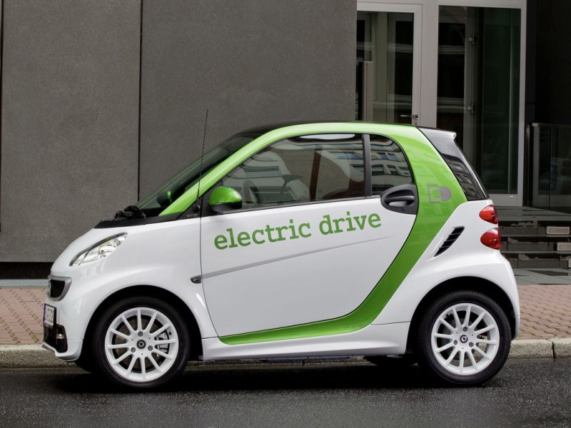 Smart fortwo electric drive (2012)