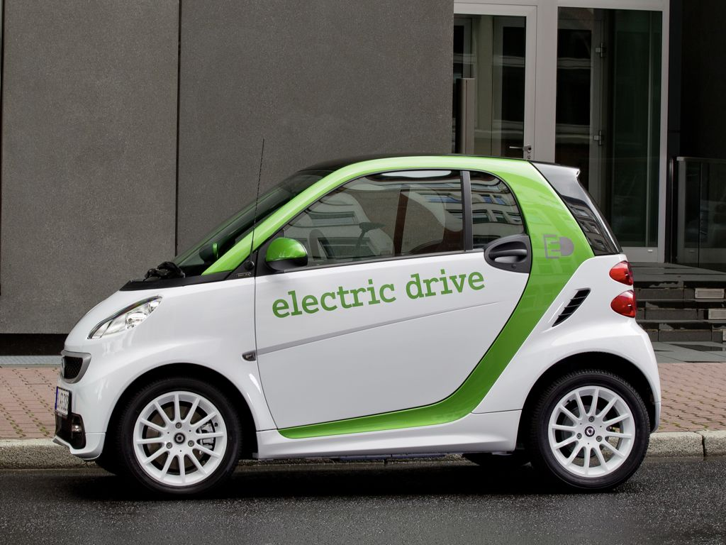 Smart fortwo electric drive (2011)