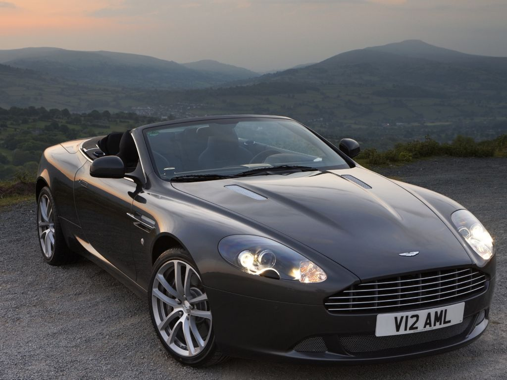 Aston Martin DB9 Coupe (2012)