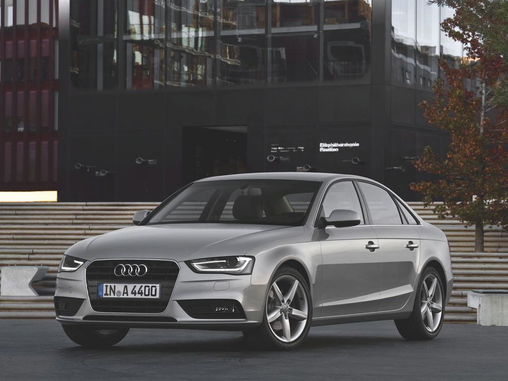 Audi A4 Facelift (2012)