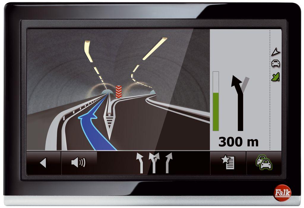 Falk FLEX 500 - Navi mit integriertem Reiseführer und 3d Ansicht