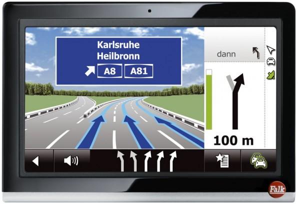 falk neo 550 navigation 2012 img 1 596x408 - Falk NEO 550 - Navi mit praktischer Anbindung
