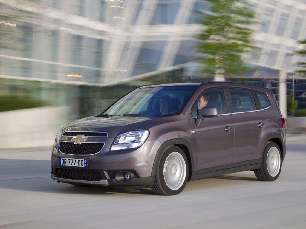 Chevrolet Orlando (2012)