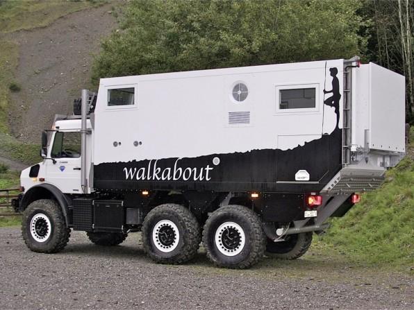 Unicat Expeditionsmobil: Unimog U 4000 6x6