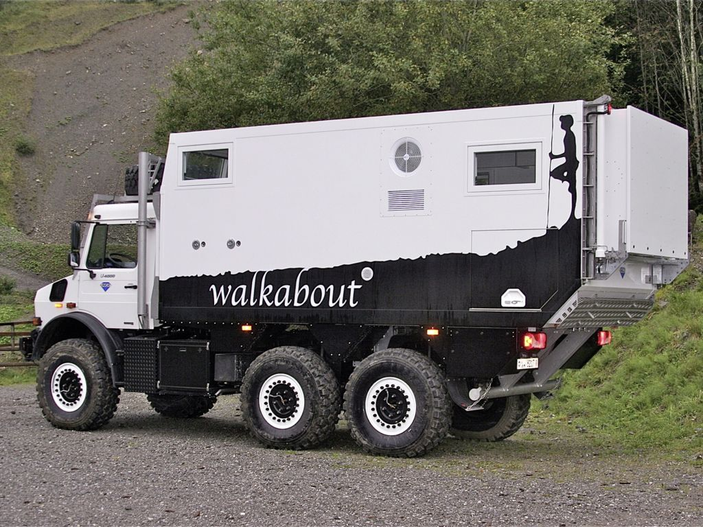 Unicat Expeditionsmobil: Unimog U 4000 6x6