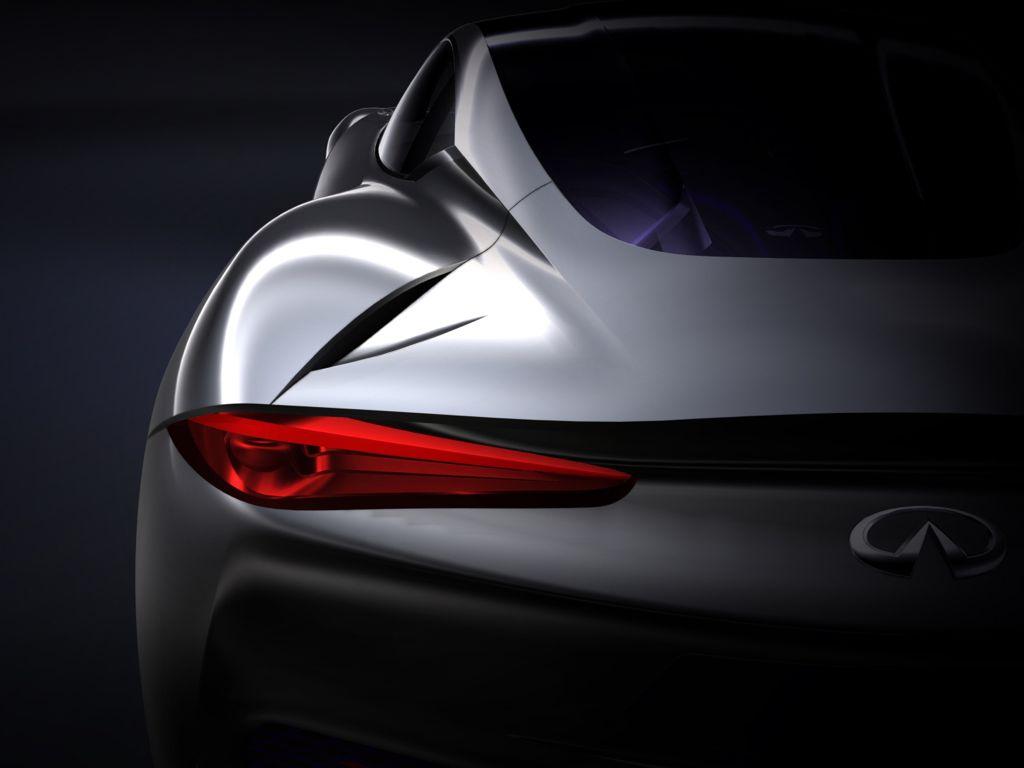 Genf 2012: Elektroauto Sportwagen Infiniti Emerg-E