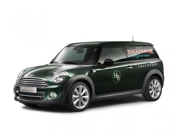 Genf 2012: Mini Clubvan Concept – jetzt noch ein Lieferwagen?