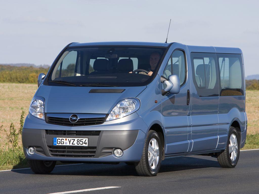 Steckbrief Opel Vivaro Bilder Preise Und Technische