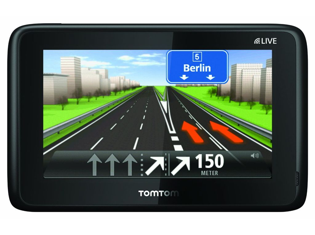 tomtom go live 1005 edles navi mit stetiger. Black Bedroom Furniture Sets. Home Design Ideas