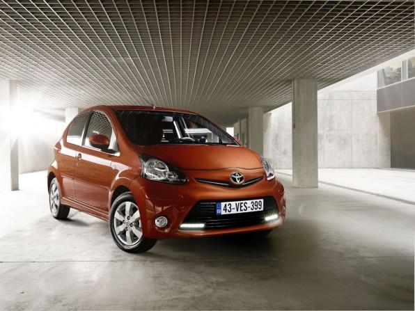 toyota aygo mj2012 img 5 596x447 - Neuer Toyota Aygo: Die Preisliste beginnt bei 8990 Euro