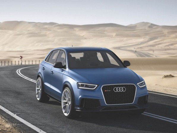 Auto China 2012: Audi RS Q3 Concept – Bilder und technische Daten der Studie