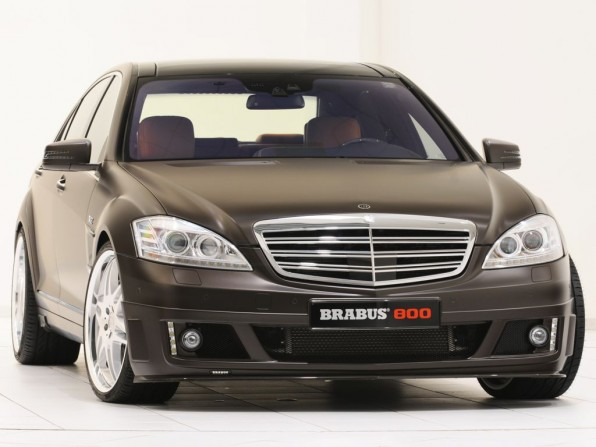 Brabus 800 Coupe Basis S-Klasse (2012)