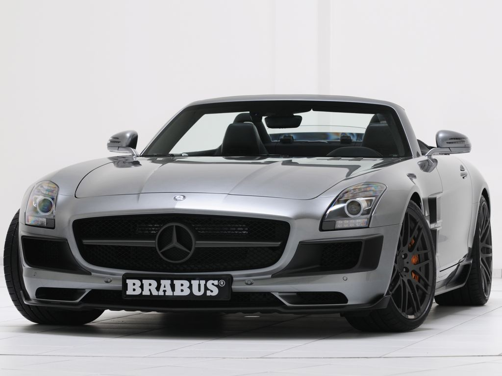 brabus sls amg roadster 2012 das auto magazin. Black Bedroom Furniture Sets. Home Design Ideas