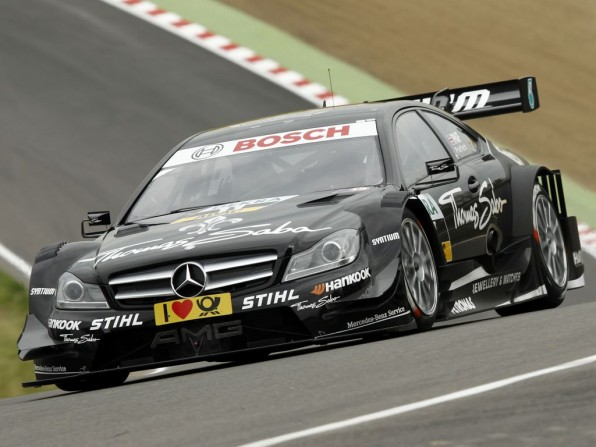 DTM 2012: Gary Paffet siegt in Brands Hatch