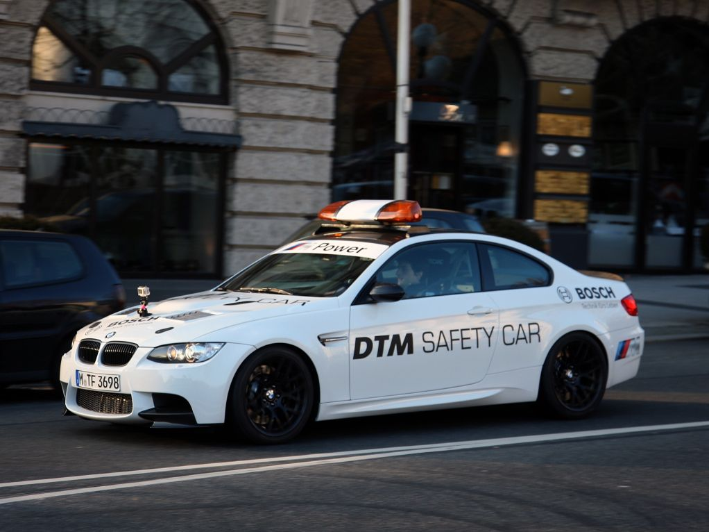 BMW M3 GTS DTM Safety Car