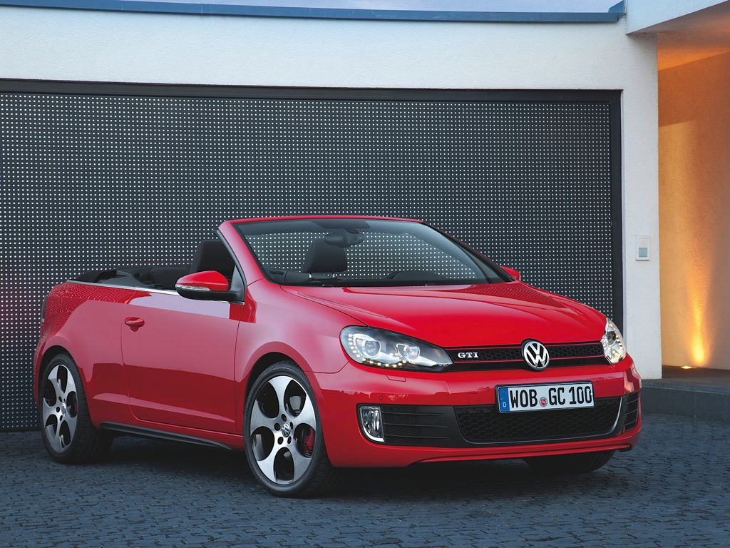 golf gti cabrio bilder preise und technische daten 2012. Black Bedroom Furniture Sets. Home Design Ideas