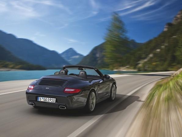 Porsche 911 Black Edition Cabriolet (2011)