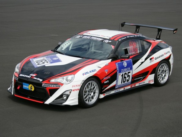rennversion toyota gt 86 mj2012 img 1 596x447 - Toyota GT 86: 24-Stunden Rennen am Nürburgring