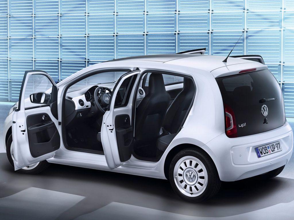 Ab sofort steht der VW up als Viertürer bei den Händlern
